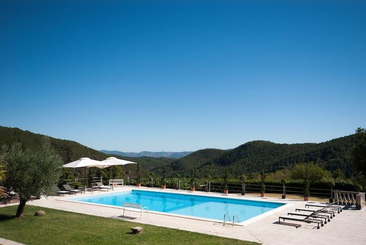 Tuscan Villa: Magical Views & Pool - Anghiari - Dom