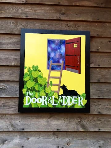 The Door and Ladder