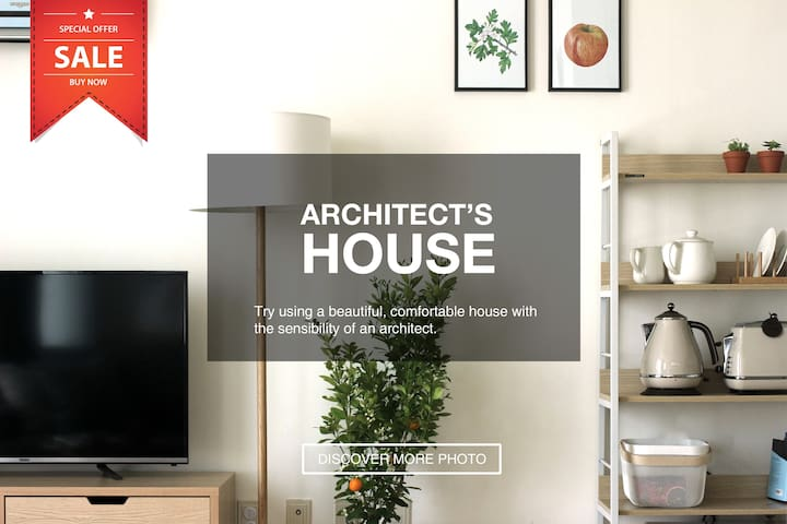 [NEW SALE 30%] Architect's House #JAMSIL #GANGNAM - Songpa-gu - Apartamento
