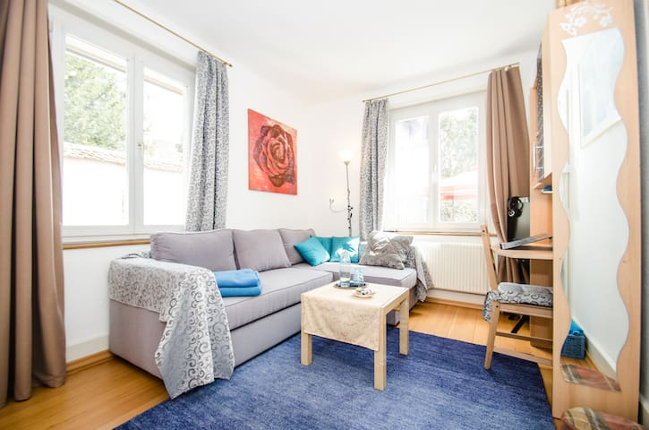 3room Ap.up to 7 sleepingplaces 40m2 sunny Veranda - Dornach - アパート
