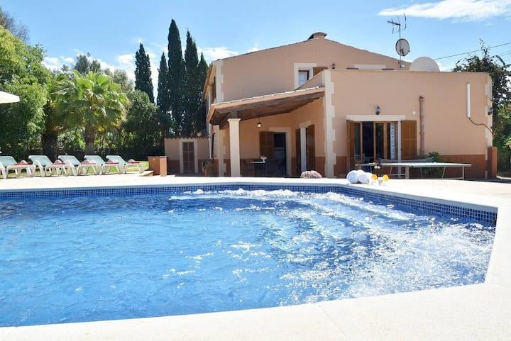 Finca SA CAVEA for 8 with pool in Felanitx