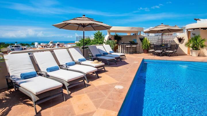 Casa Tabachin in Puerto Vallarta by Personal Villas - Historical Villa with Pool, Walk to Beach