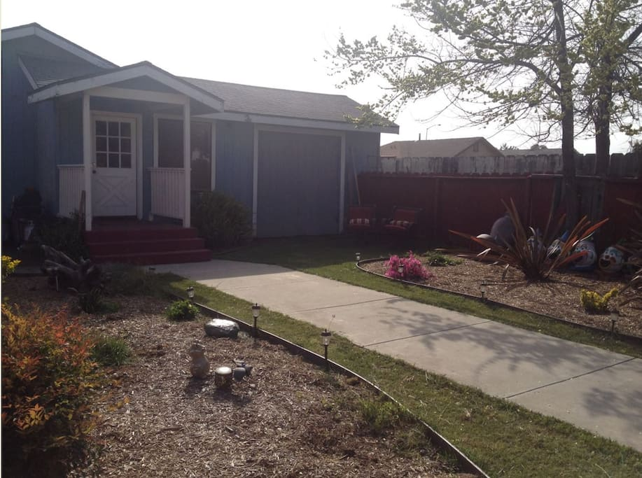 Comfortable 3 bedroom family home includes bbq and area where kids can play.  Plenty of private parking.