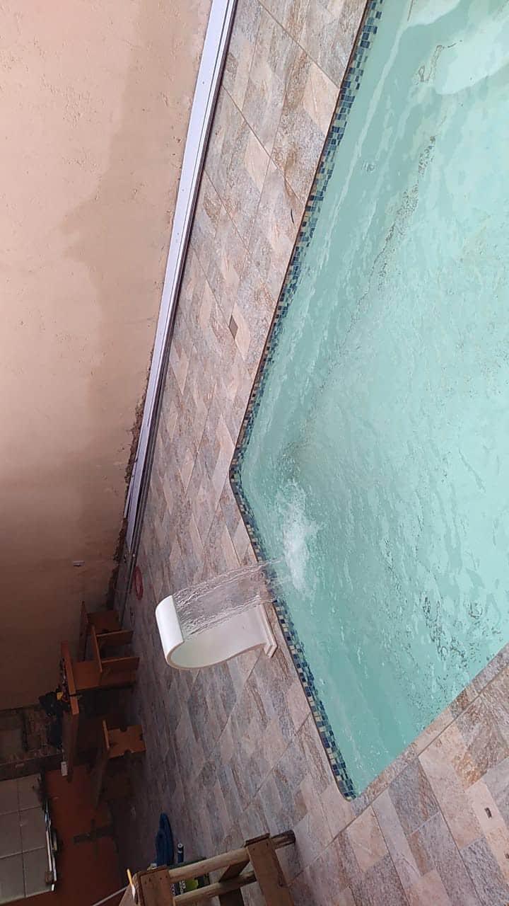 Casa c/piscina  para um final de semana e feriado