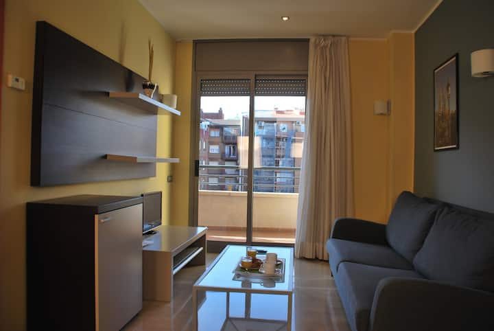 Double apartment - Independència ABAPART