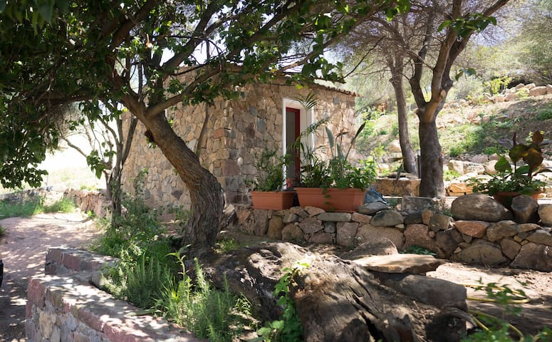 Sardinian style house with garden for relaxing