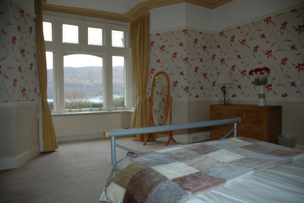 Bedroom 1 - view to window