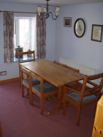 Dining Room and Entrance Room