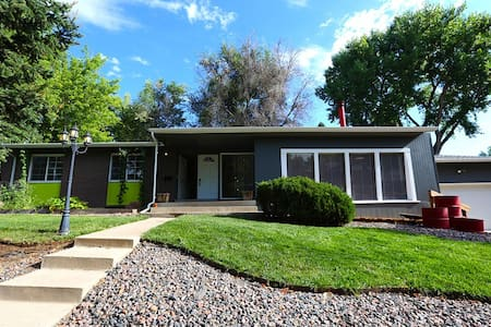 Mid-century 3br whole family house - mtns/city - Arvada