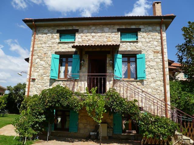 Steliana's sunny happy pool cottage near Athens - East Attica - House