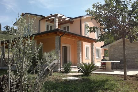 Apartment house Strunjan near Piran - Haus