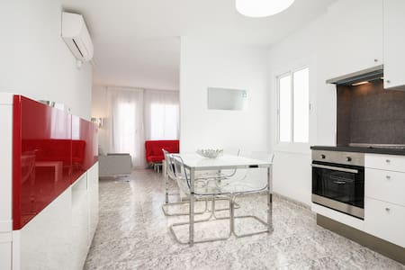 NEW SUNNY APT. CAMP NOU with 2 TERRACES