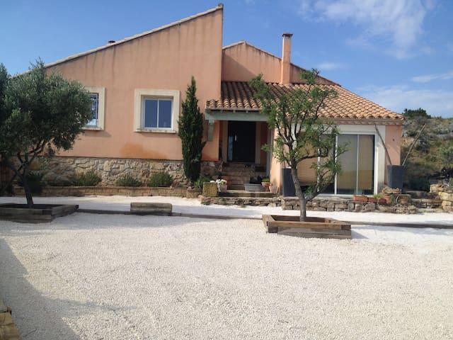"""Belle villa au soleil """"La Farigoulette"""" - Portel-des-Corbières - Casa"""