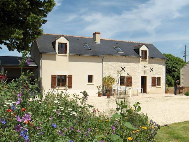 La Thibaudière 10 personnes 3*** - Ambillou-Château - House