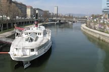 Donaukanal - One minute away from your holiday apartment!