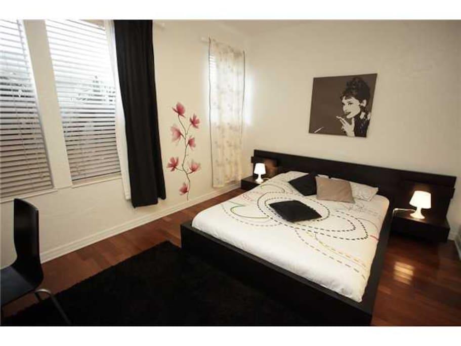 Modern art deco apt south beach appartements louer miami beach floride tats unis - Deco chambre etats unis ...