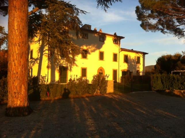 Noble Tuscan Villa Cortona, Tuscany - Pergo - Apartment