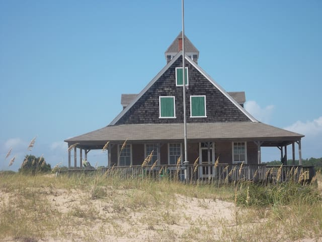 Whalehead LifeSaving Station.  Step Back In Time!