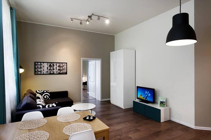Apartament 14 z tarasem