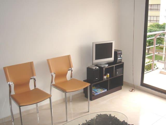 apartamento amoblado en excelente sector  pereira - Pereira - Apartment