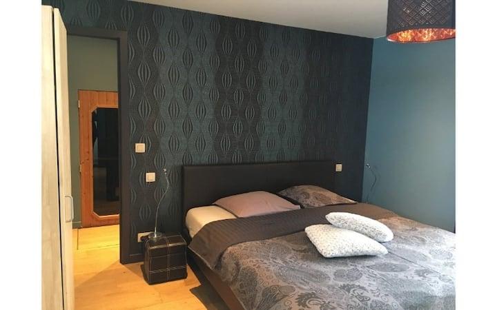 B&B De Zoete Kers with 5 rooms - Room1 : 'Blue Berry' with sauna incl. breakfast