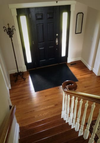 Foyer view from stairs