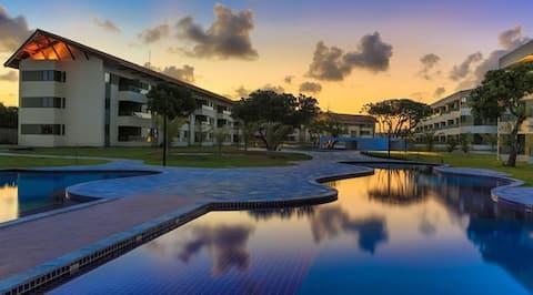 Carneiros Beach Resort Apt 1 quarto p/5 pessoas