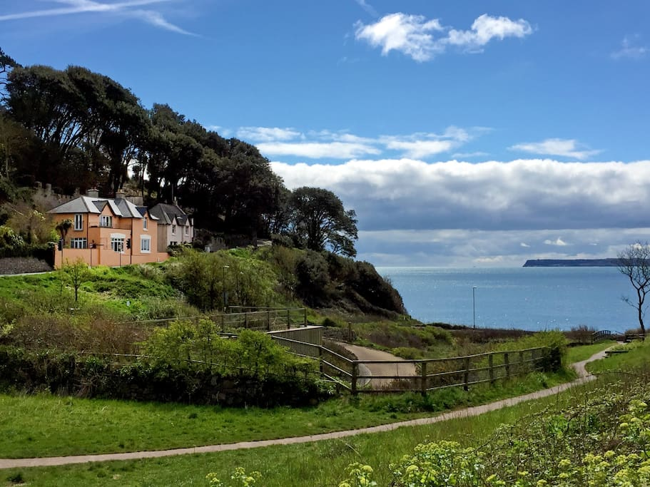 Kilmorie Studio with beautiful views over the bay to Berry Head