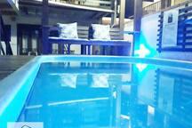 Suite p/2 pessoas em Pousada, com piscina.