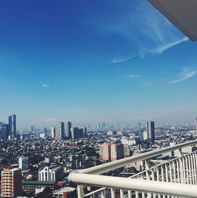 You get a bit of a view of the Makati Central Business district and its surrounding areas.