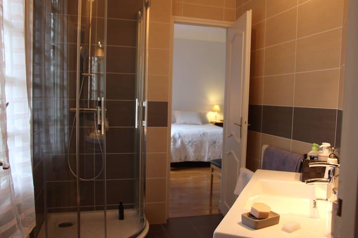 Chambre dans pavillon proche centre ville et forêt - Saint-Germain-en-Laye - Villa