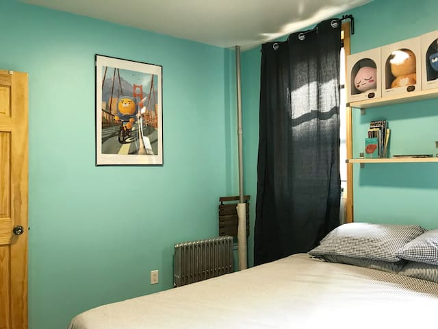 Private Master Bedroom in the Lower East Side