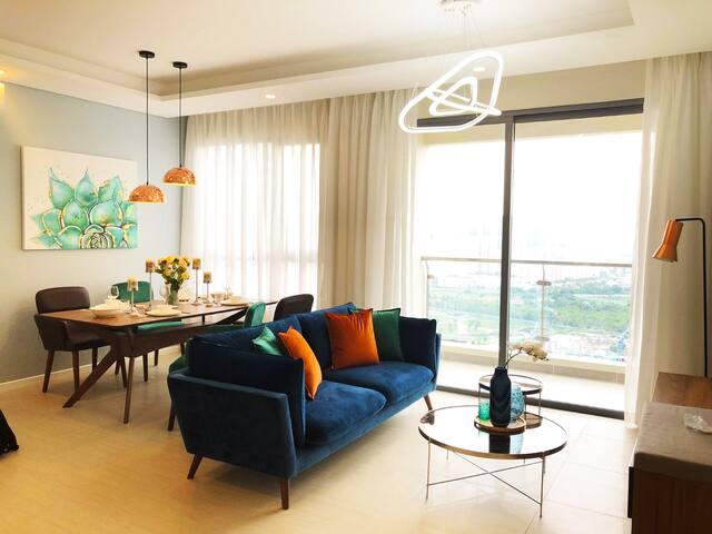 Luxury Apartment - 2BR/Big Pool - Diamond Island