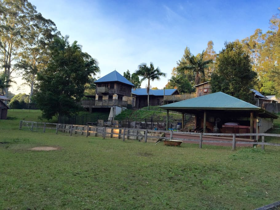 The Farm from the back side, further into the grounds