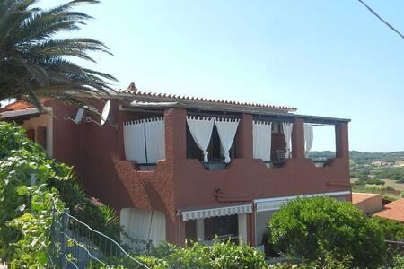 Veranda superpanoramica per sei a Santa Teresa