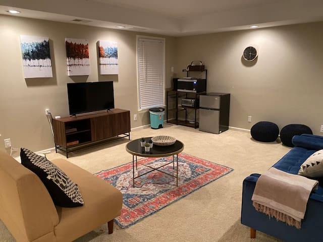 Chic basement apartment