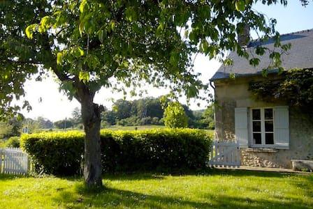 Maison avec grand jardin au coeur de la campagne