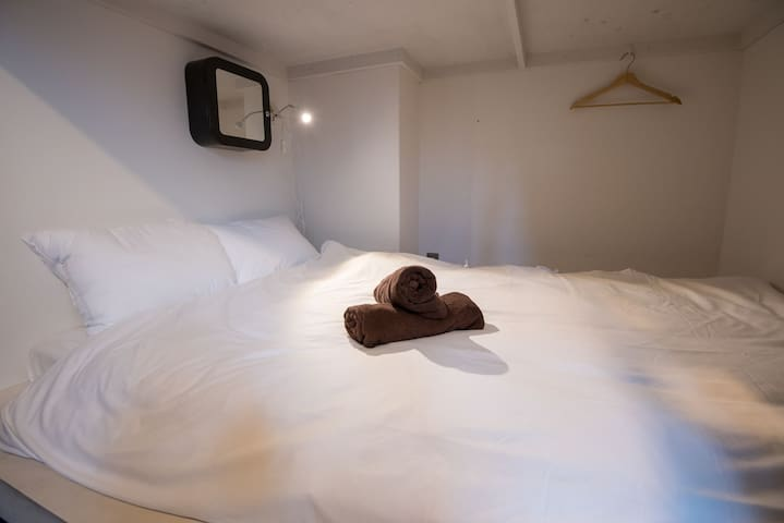 semi doule 2ppl domitory Namba wifi - Osaka - Bed & Breakfast