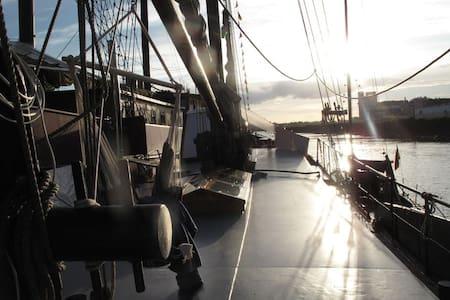 Kabauterbett Kajüte 2 auf Segelschiff Ronja - Bremen