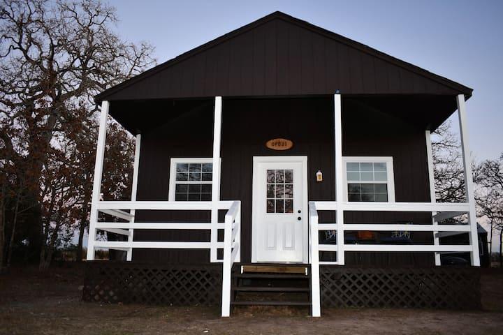Quaint Cabin on Idyllic Ranch near Round Top TX