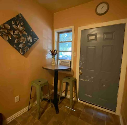 72 sq ft Tiny apartment by the stockyards.