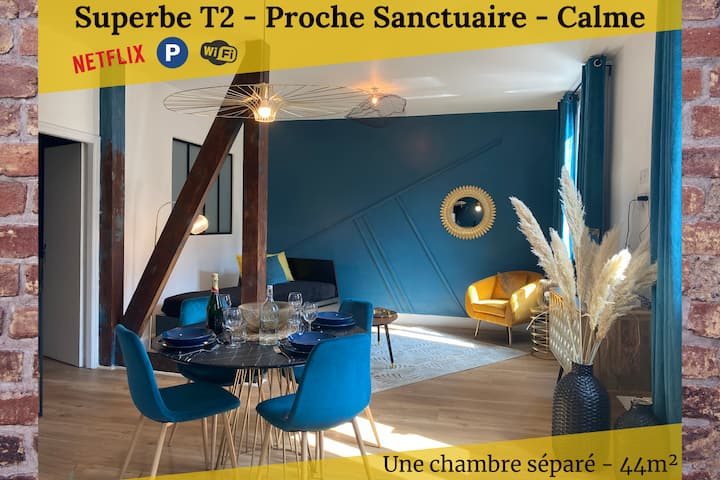 T2 [PARENTHESE]LE VIGNEMALE★ PARK&WIFI ★ SANCTUARY