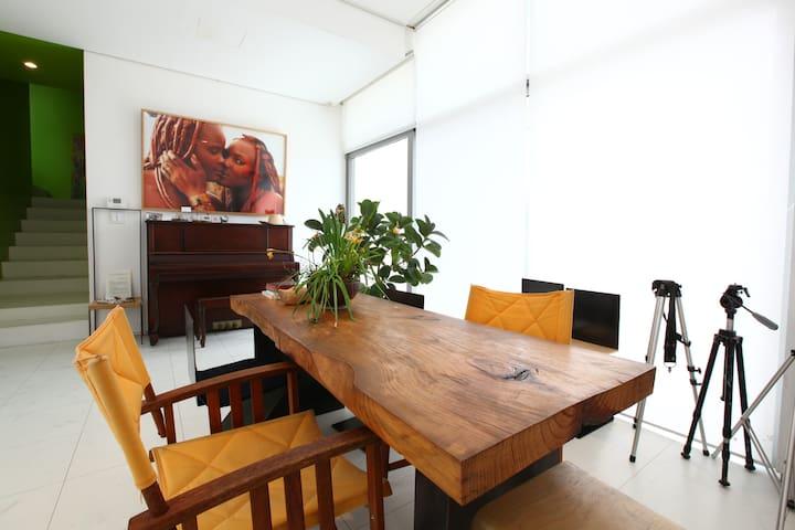 studio WHITE, MOTIF1, Heyri, Korea - Paju-si - Dom