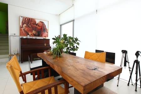 studio WHITE, MOTIF1, Heyri, Korea - Paju-si - Rumah