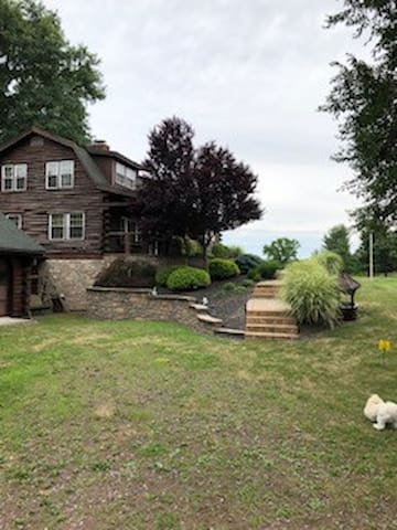 Spectacular Views in this totally redone Log Cabin