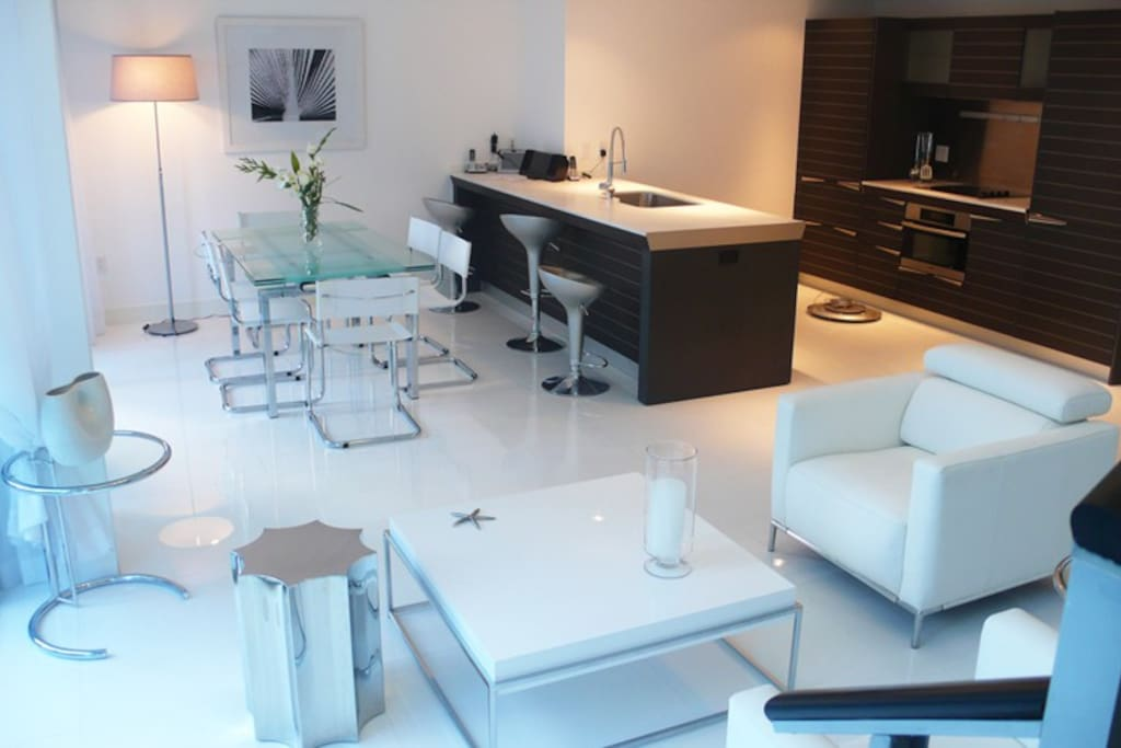 Modern 2 residence epic brickell apartments for rent in for Epic apartments miami