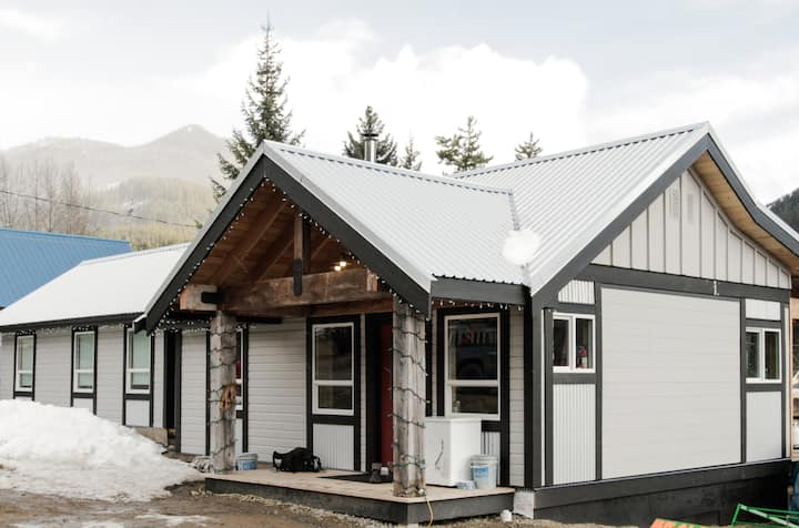 Bralorne BC,  Whistler backcountry  Cabin
