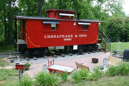1926 C&O Caboose - Natural Bridge - Trem