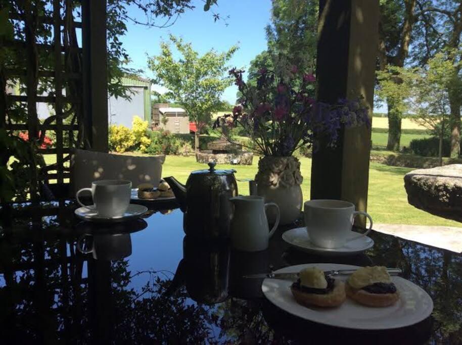 A complimentary Cornish Cream Tea awaits you!