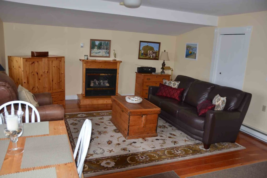 Living room & fire place